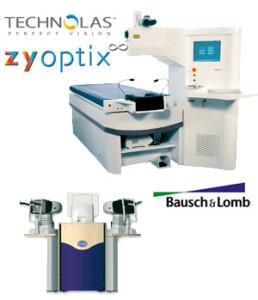 Laser excimer avec lasik et traitement personnalisé